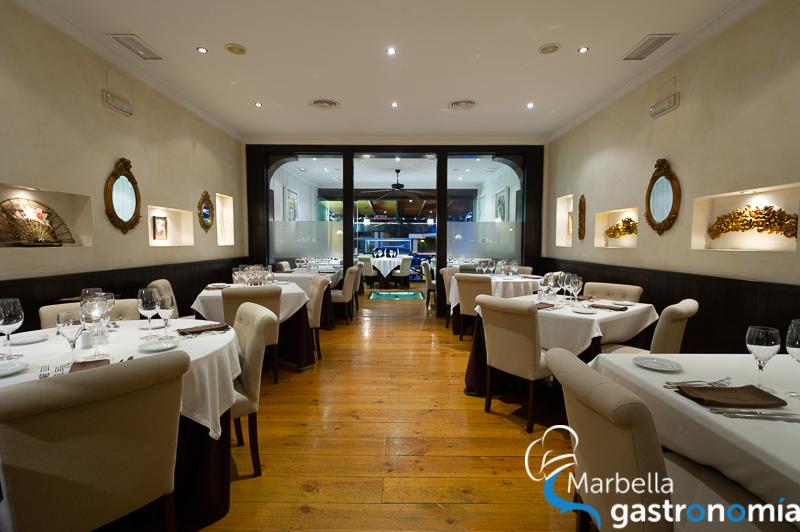 restaurante la rosa marbella