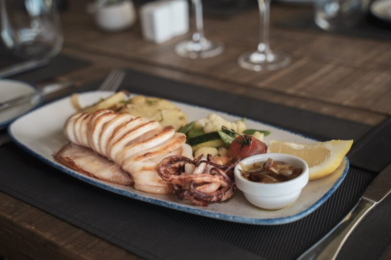 Plato restaurante Tamanaco Marbella